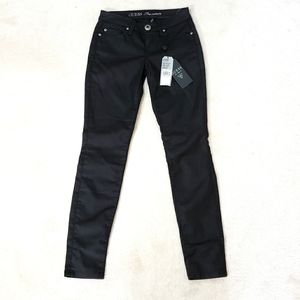 Guess Black Power Skinny Legging Fit Pants Size 25
